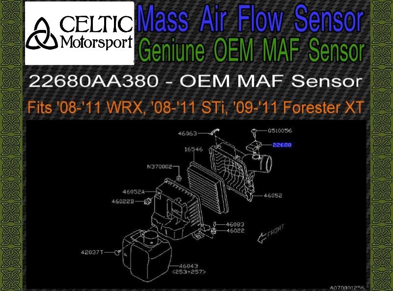 Downstream O2 Oxygen Sensor for Subaru Forester 09-13 Impreza 08-13 Legacy