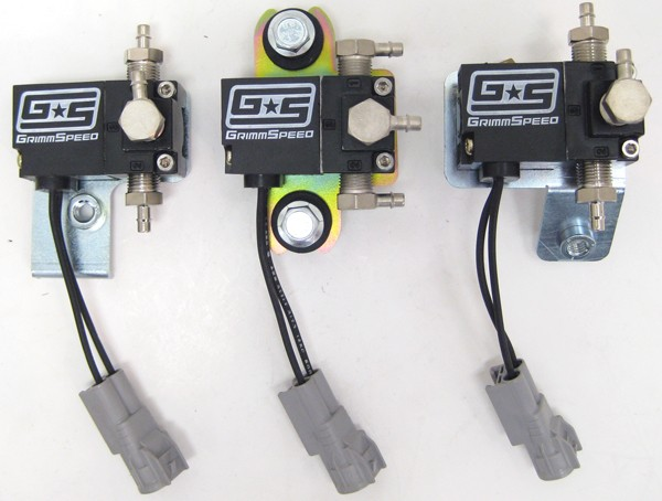 GrimmSpeed 057001 Electronic Boost Controller Solenoid 02-05 Subaru Impreza WRX
